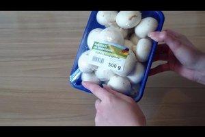 Champignons lagern - so bleiben sie lange frisch