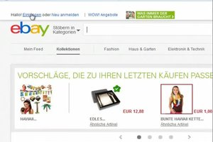 Bei eBay verkaufen - Anleitung