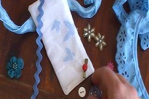 Freudentränen-Taschentücher - Bastelanleitung für die Taschentuchtasche