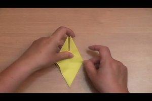 Origami-Blumen - eine Faltanleitung