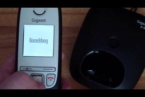 Mobilteil anmelden bei Gigaset - so geht's Schritt-für-Schritt