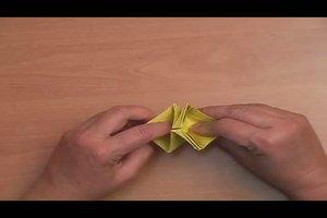 Seerose falten - so geht´s mit Papier
