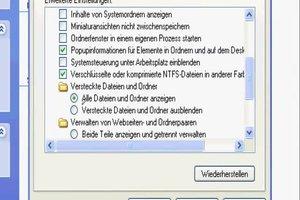 Temporäre Dateien finden - Anleitung für Windows XP
