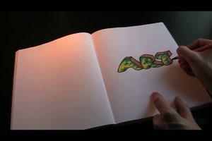 Graffiti lernen - Schritt für Schritt