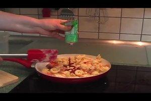 Kochen mit Zutaten, die man zuhause hat
