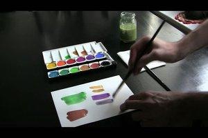 Wie mische ich Farben?