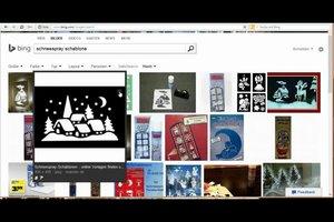 Schneespray-Schablonen - online Vorlagen finden und nutzen
