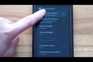 Automatische Zeitumstellung beim Handy einstellen