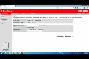 Über Vodafone Router IP Einstellungen am Router vornehmen