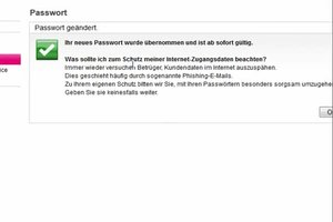 """Passwort ändern bei """"t-online.de"""" - so geht's"""
