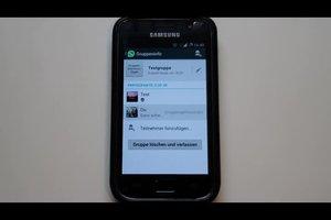 WhatsApp - den Gruppen-Admin ändern