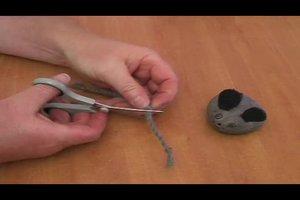Bastelanleitung für eine Maus