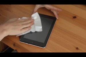 video kratzer auf display entfernen so geht 39 s beim tablet pc. Black Bedroom Furniture Sets. Home Design Ideas