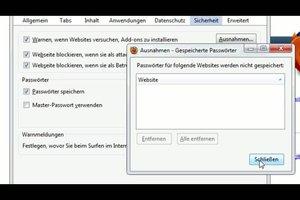 Passwörter automatisch speichern - so geht´s in Firefox