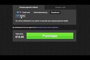 Wie bezahlt man Minecraft? - So geht's