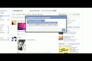 Bei Facebook ist der Chat inaktiv - was tun?