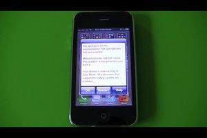 Exit Safe Mode beim iPhone 4 entfernen