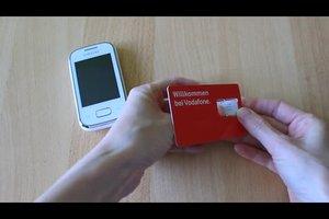 Vodafone SIM-Karte freischalten - Anleitung