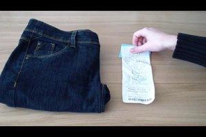 Neue Jeans stinkt - was tun?