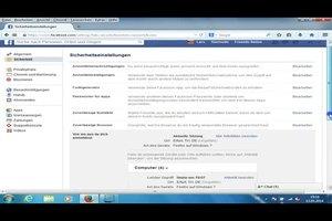 Facebook: Aktive Sitzung und ein falscher Ort wird angezeigt - was tun?