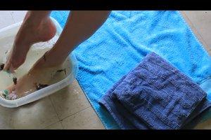 Fußbad selber machen - so geht's