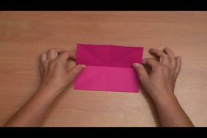 Origami-Stern - Anleitung zum Selberbasteln