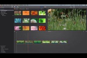 iMovie: Bilder einfügen - so geht's