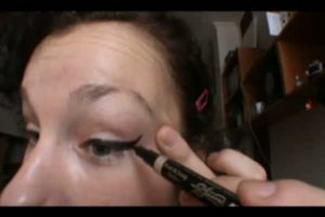 Audrey Hepburn - Lidstrich schminken wie ein Star