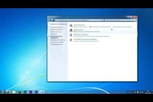 Windows-7-Konto gesperrt - was tun?