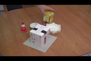 Einen Papierturm bauen - so geht's