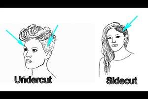 Undercut und Sidecut - der Unterschied leicht erklärt