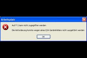 e/a Gerätefehler - Ursachen und Abhilfe