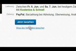 eBay - mehrere Artikel vom gleichen Verkäufer kaufen