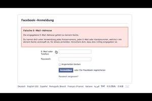 Facebook-Login geht nicht - Problem beim Anmelden beheben