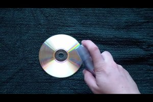 CD-Kratzer entfernen mit Haarspray - so funktioniert es