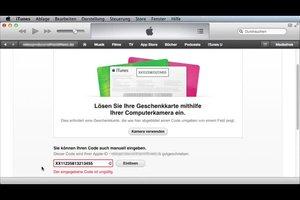 iTunes-Karte funktioniert nicht - so beheben Sie das Problem