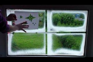 Weihnachtliche Fensterdekoration - so wird's festlich
