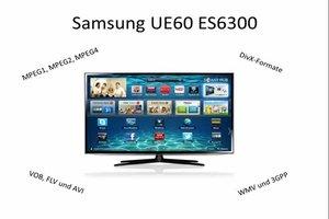 Samsung TV - diese Videoformate können Sie beim UE60ES6300 abspielen