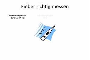 Fieber - Temperatur richtig messen