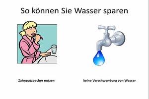 Wasserverbrauch für 2 Personen kalkulieren - so sparen Sie Wasser