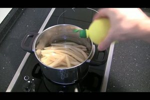 Spargelcremesuppe aus Resten - Rezept zum Selbermachen