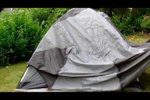 Zelt aufbauen leicht gemacht - so geht's