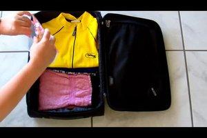 Flugreisegepäck richtig packen