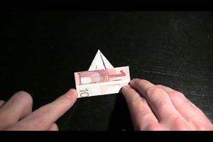 Origami mit Geld - so gelingt ein Elefant