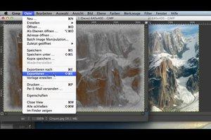 Fotos älter aussehen lassen - so geht's in GIMP