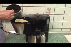 Filterkaffee kochen - so geht's