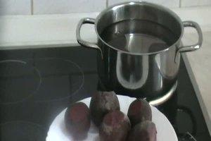Rote Beete einkochen - Anleitung
