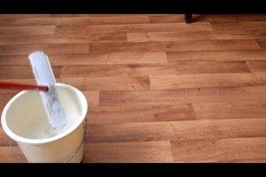 Wie bekomme ich einen PVC-Boden richtig sauber? - Anleitung