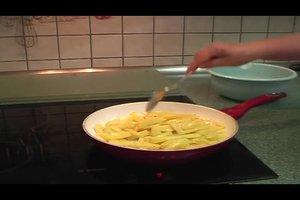 Im Backofen Pommes frites selbst machen - Rezept