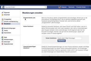 Facebook - Pinnwand für bestimmte Freunde sperren